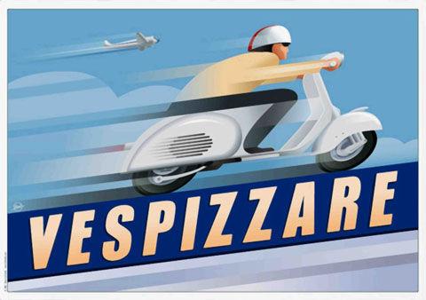 Vintage Vespa Ads