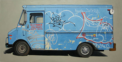 Painted Truck