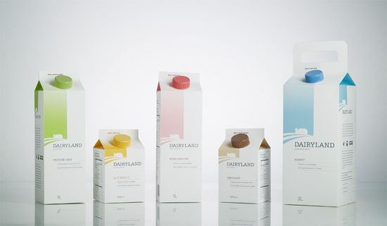 Dairyland Package Design