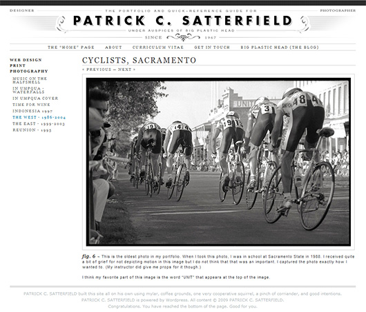 The Portfolio and Quick Reference Guide of P.C. Satterfield