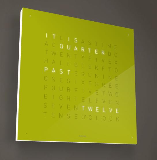 QLOCK Clock