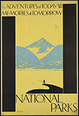 National Parks Travel poster