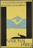 National Parks Travel poster