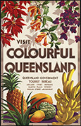 Queensland Travel poster