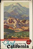 California Travel poster