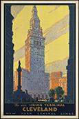 Cleveland Travel poster