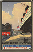 Transatlantic Travel poster