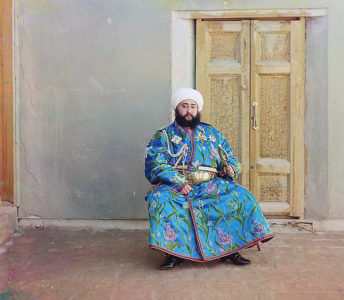 The Emir of Bukhara, 1911