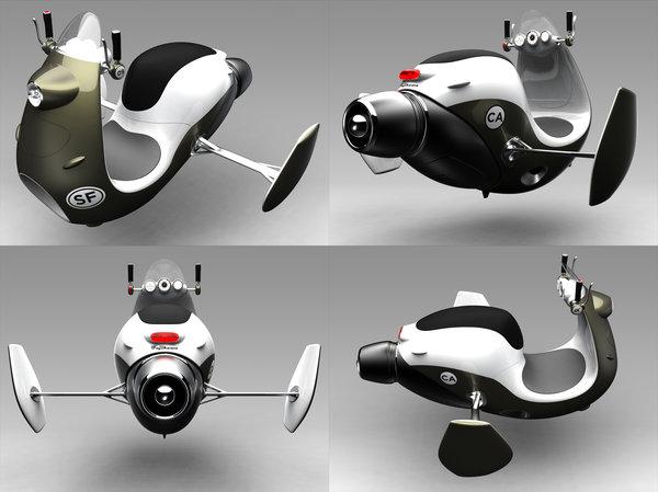187 Jet Scooter Concept Art Big Plastic Head : jetscooterbypeanuts23 from www.bigplastichead.com size 600 x 449 jpeg 43kB